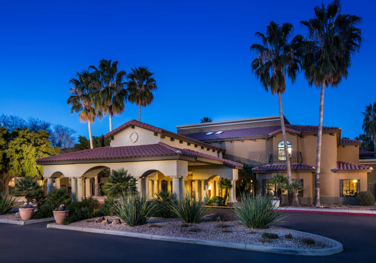 Outdoor view of The Country Club of La Cholla in Tucson, Arizona