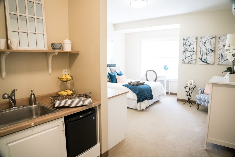 Living space at Avenir Memory Care at Little Rock in Little Rock, Arkansas