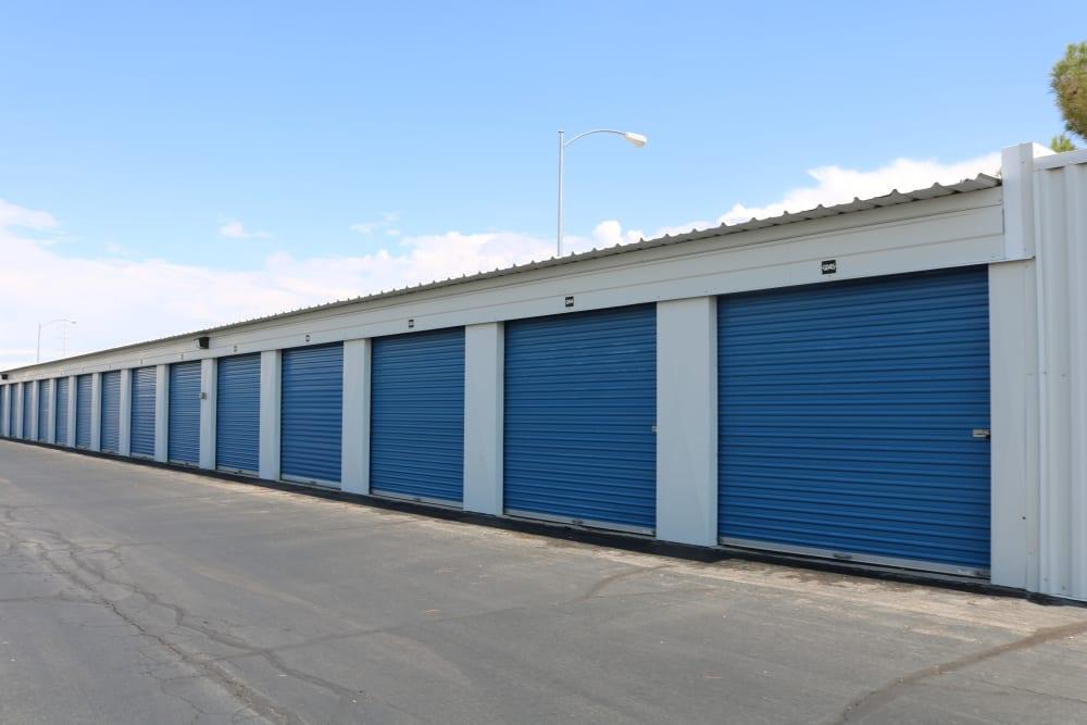 Convenient drive-up storage at Best Storage in Henderson, Nevada