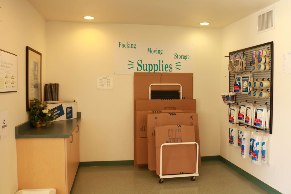 Packing supplies available at Channel Islands Self Storage in Port Hueneme, CA