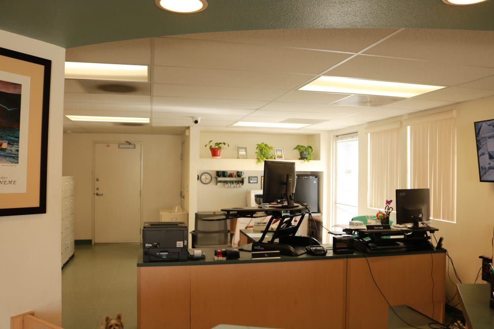 Leasing office at Channel Islands Self Storage in Port Hueneme, CA