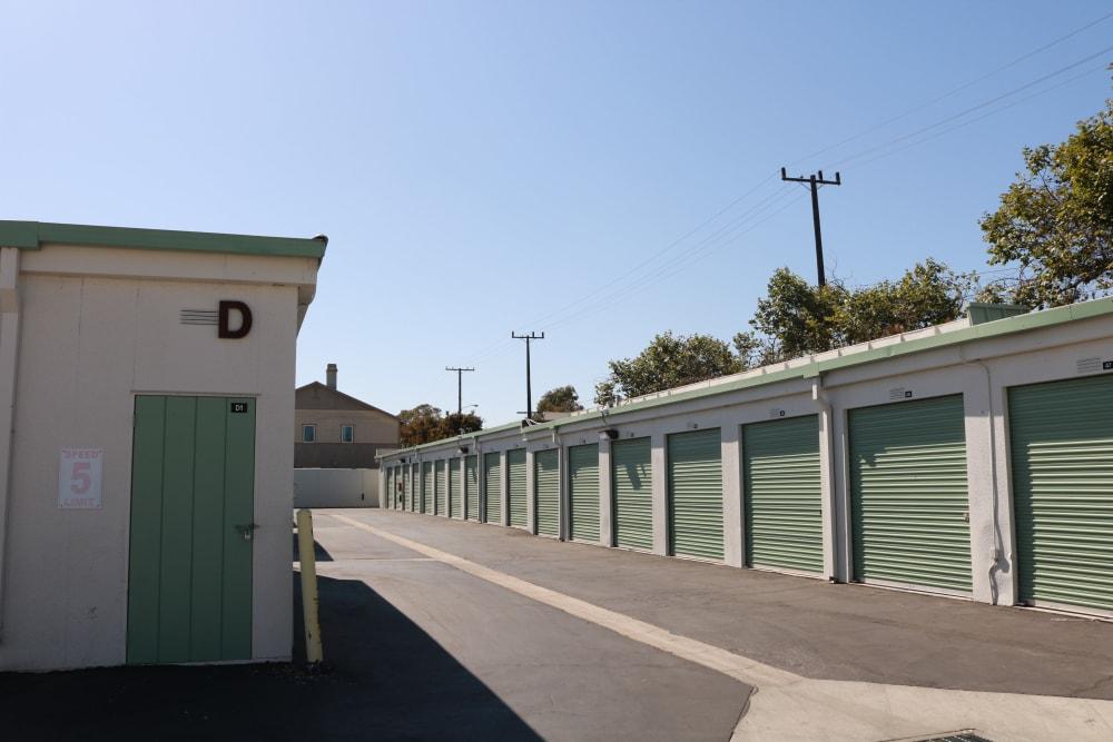 Drive up storage units at Channel Islands Self Storage in Port Hueneme, CA