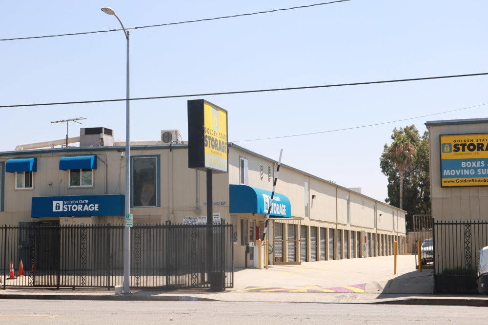 Golden State Storage facility on Sepulveda Boulevard in North Hills