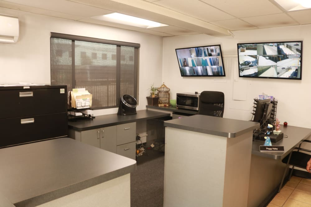 Leasing office at our storage facility on Sepulveda Boulevard in North Hills