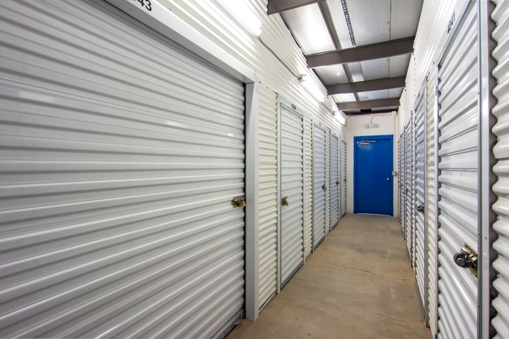 Indoor units at Metro Self Storage in Decatur, GA