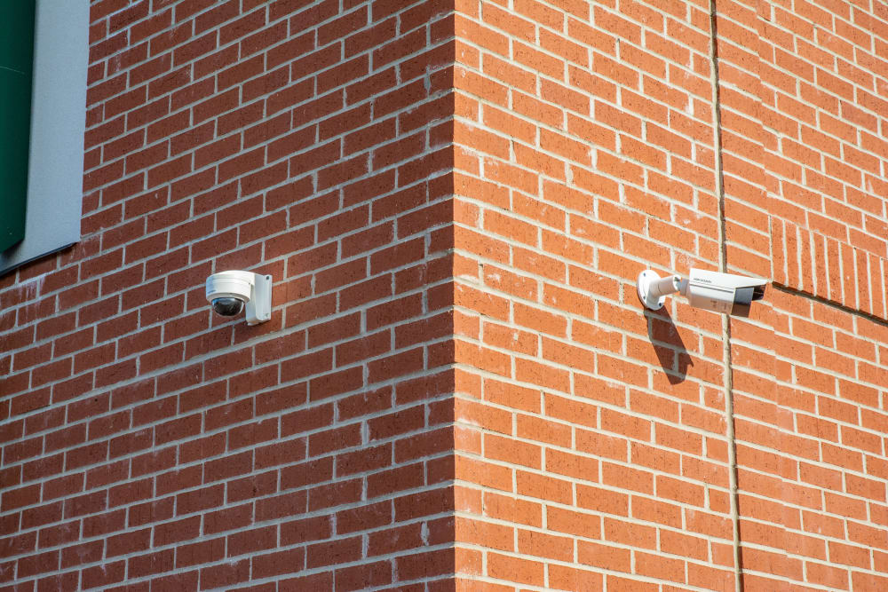 Security cameras at storage units in Noblesville, Indiana