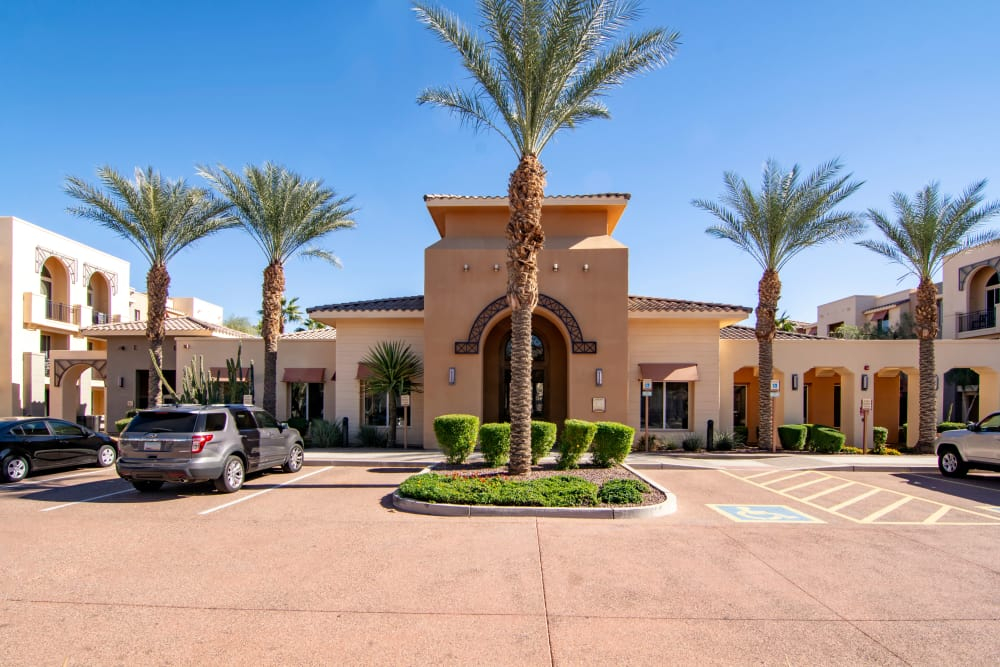 Clubhouse at apartments in Surprise, Arizona