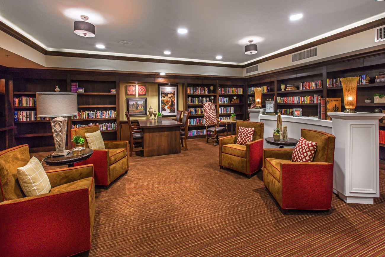 Library at The Country Club of La Cholla in Tucson, Arizona