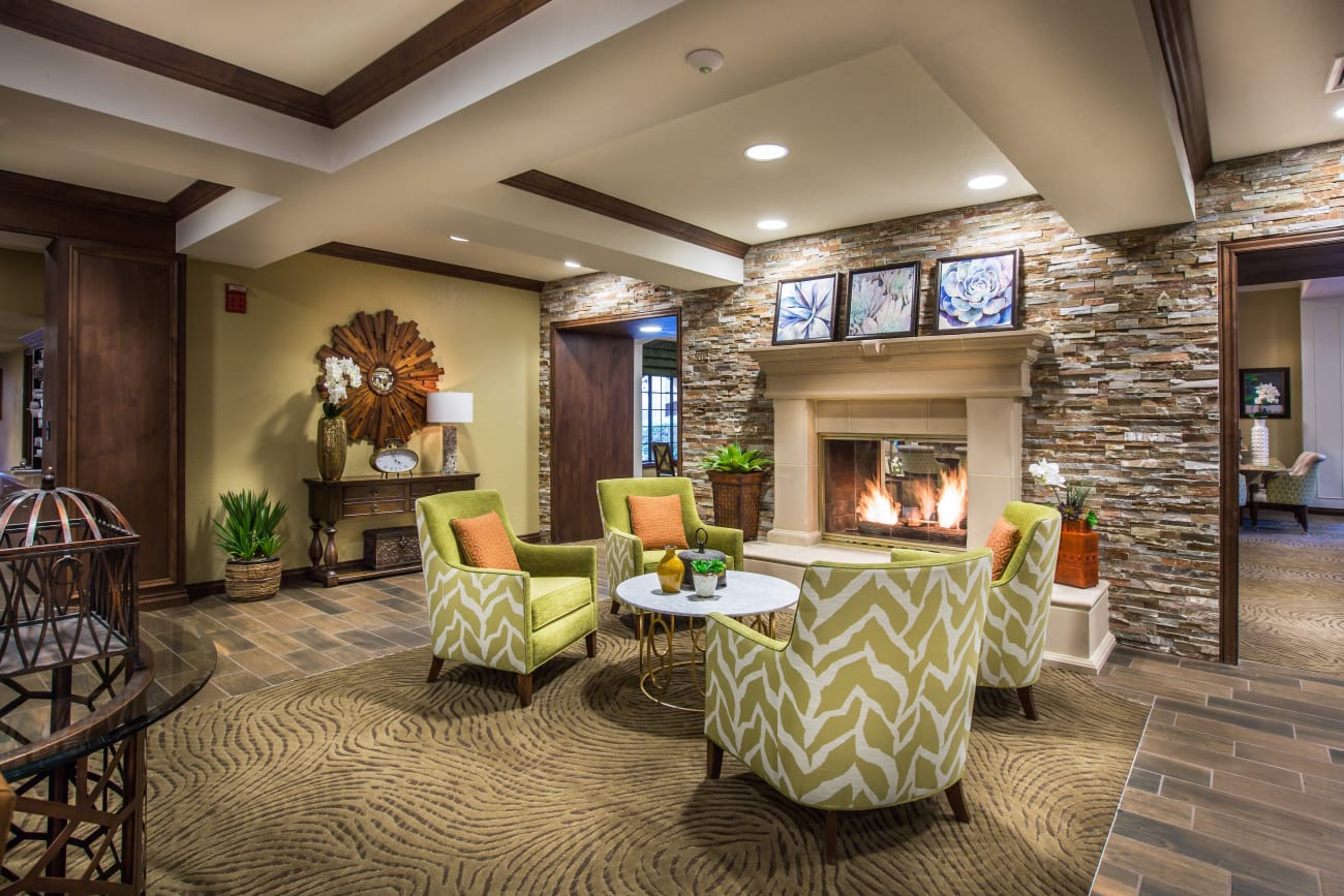 Fire Place at The Country Club of La Cholla in Tucson, Arizona