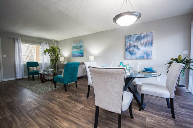 Spacious living room area at Lexington Park Apartments in Smyrna