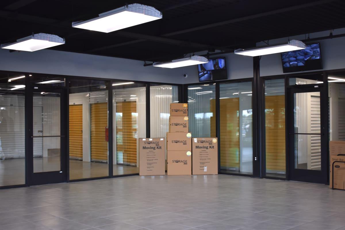 Boxes available at Storage 365 in Colorado Springs, Colorado