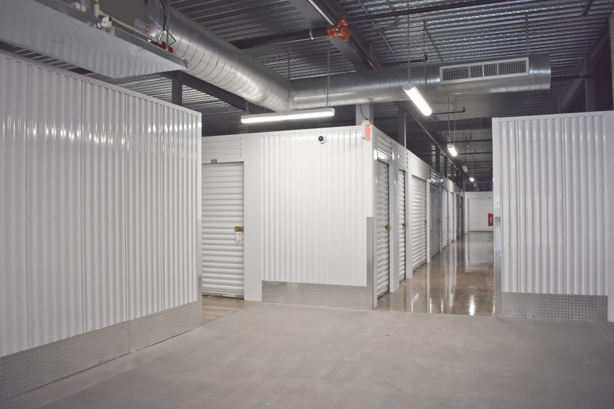 Climate controlled storage units at Storage 365 in Plano, Texas