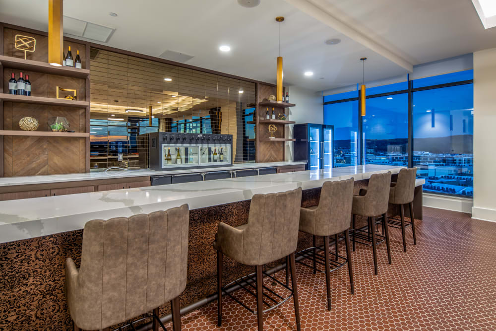 Bar in the evening at Anthology of King of Prussia – Now Open in King of Prussia, Pennsylvania