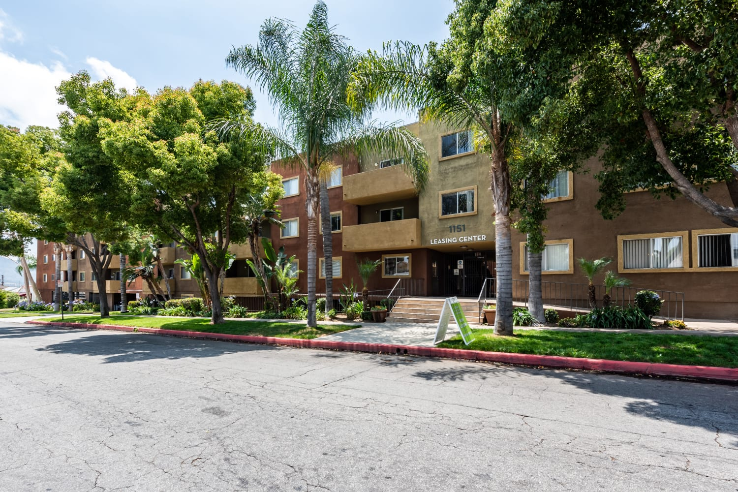 Exterior apartments at Legacy at Westglen in Glendale, California