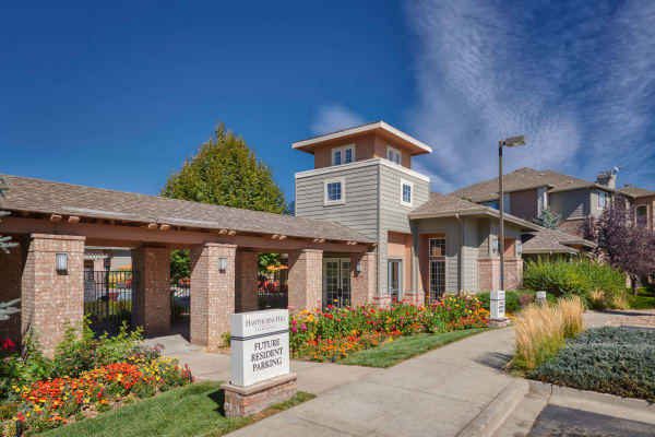Enjoy the neighborhood at Hawthorne Hill Apartments in Northglenn