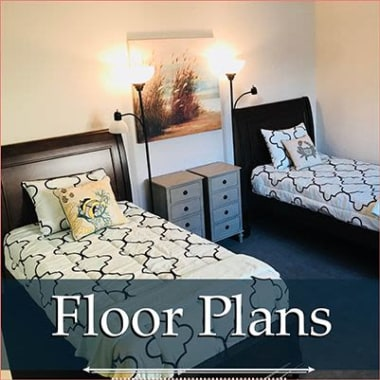 independent living floor plans at Heatherwood Senior Living