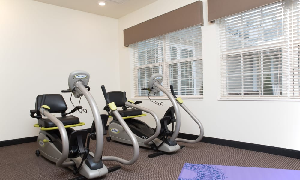 Fitness Center at The Willows at Tiffin in Tiffin, Ohio.