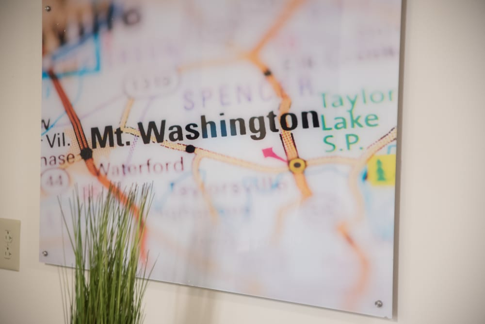 Map at Sanders Ridge Health Campus