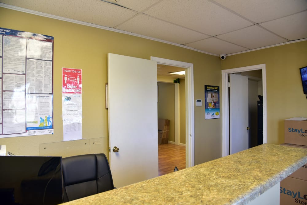 Front office for StayLock Storage in Warner Robins,GA