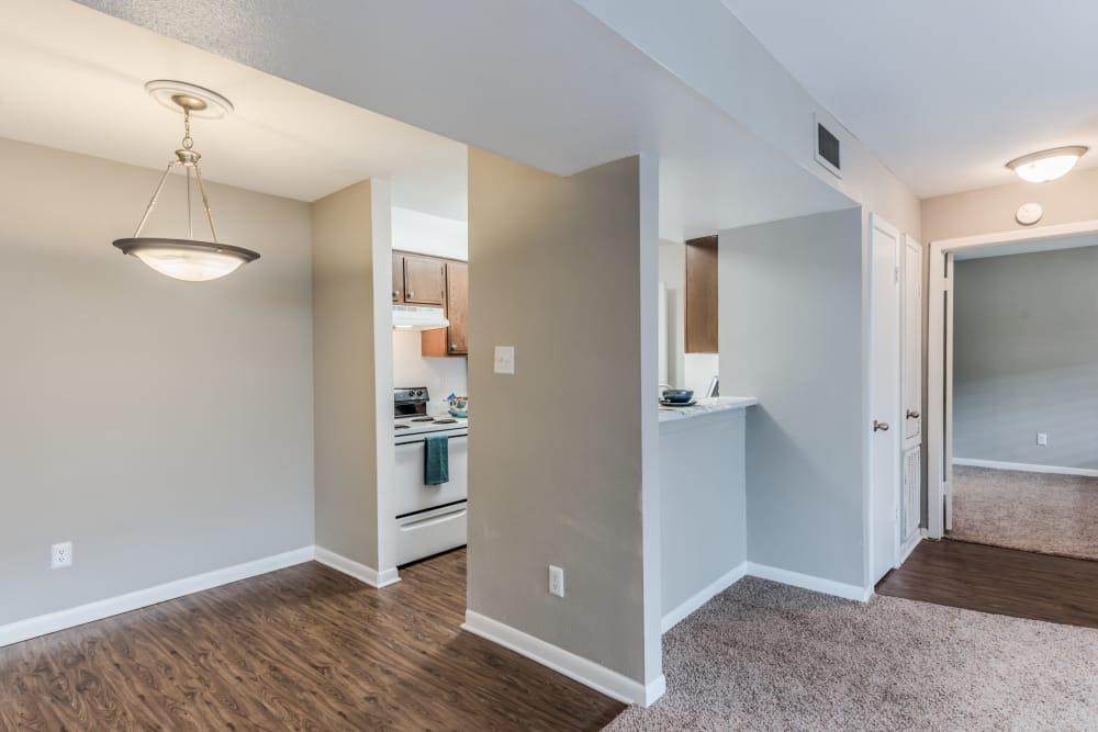 Our apartments in Houston, Texas showcase a luxury kitchen
