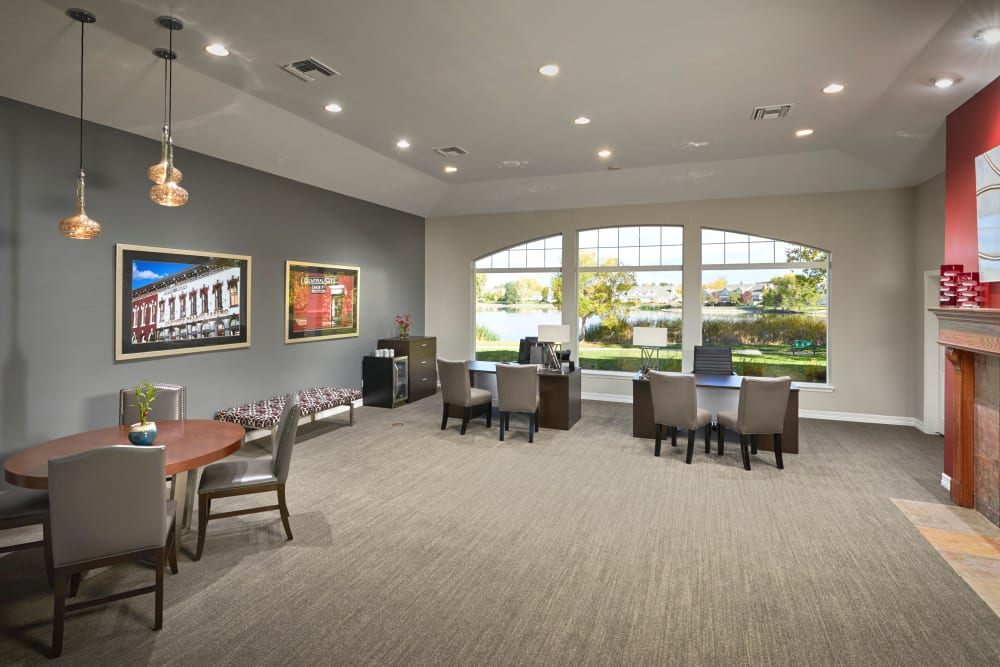 Community center at Promenade at Hunter's Glen Apartments in Thornton, Colorado