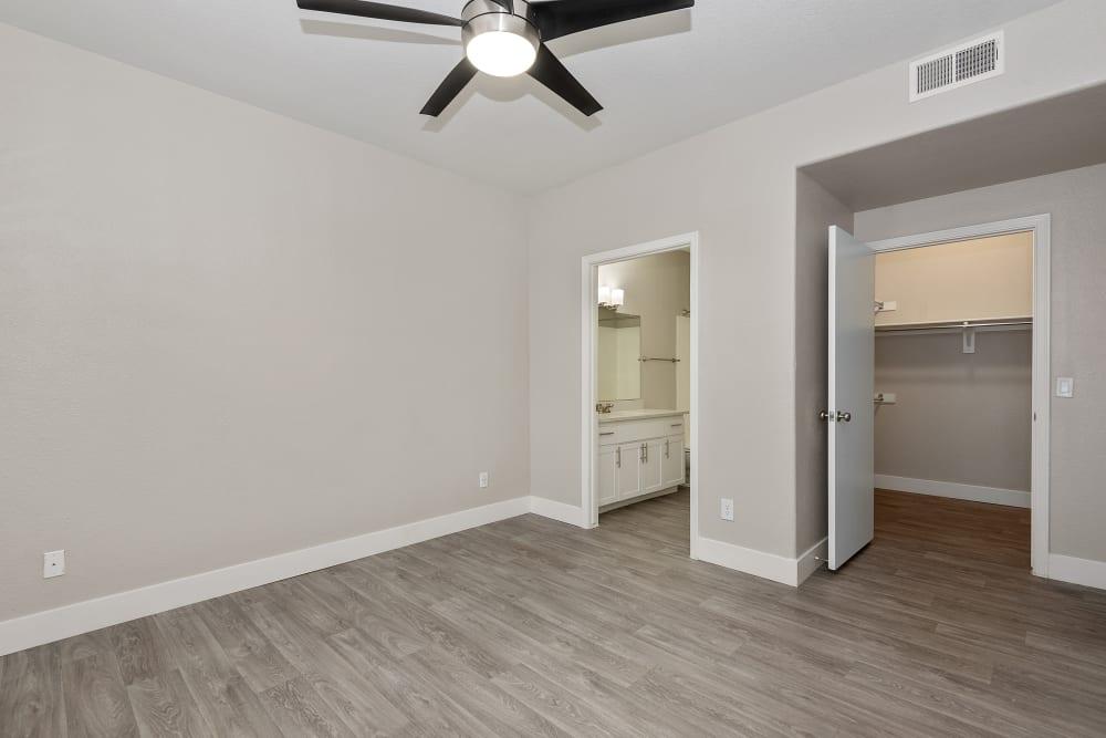 Bedroom at The Retreat Apartments in Phoenix, Arizona