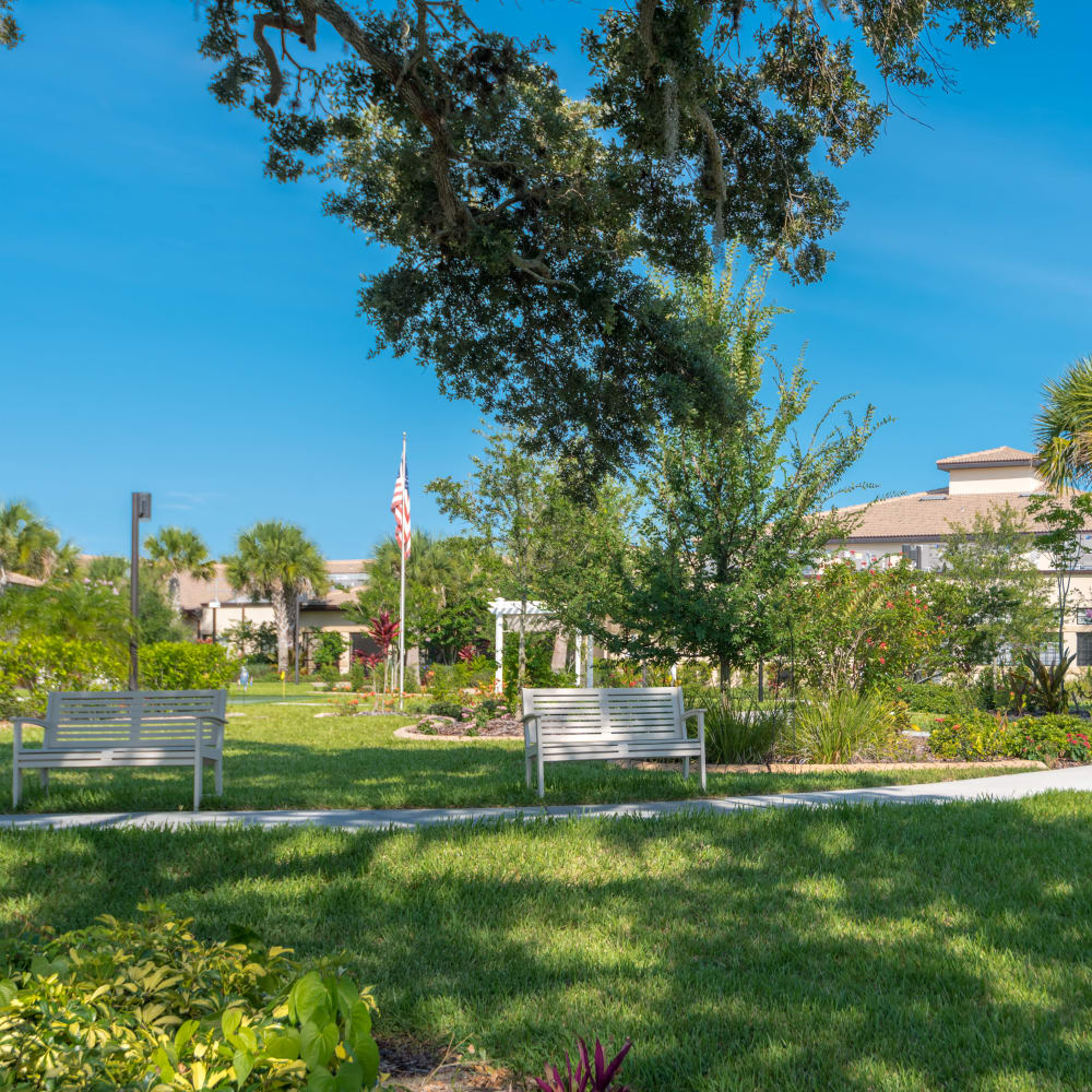 View our services and amenities at Inspired Living Sarasota in Sarasota, Florida