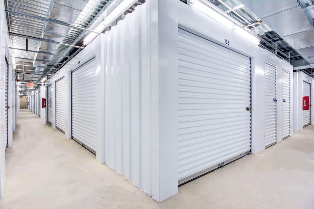 Indoor units at Metro Self Storage in Conyers, Georgia