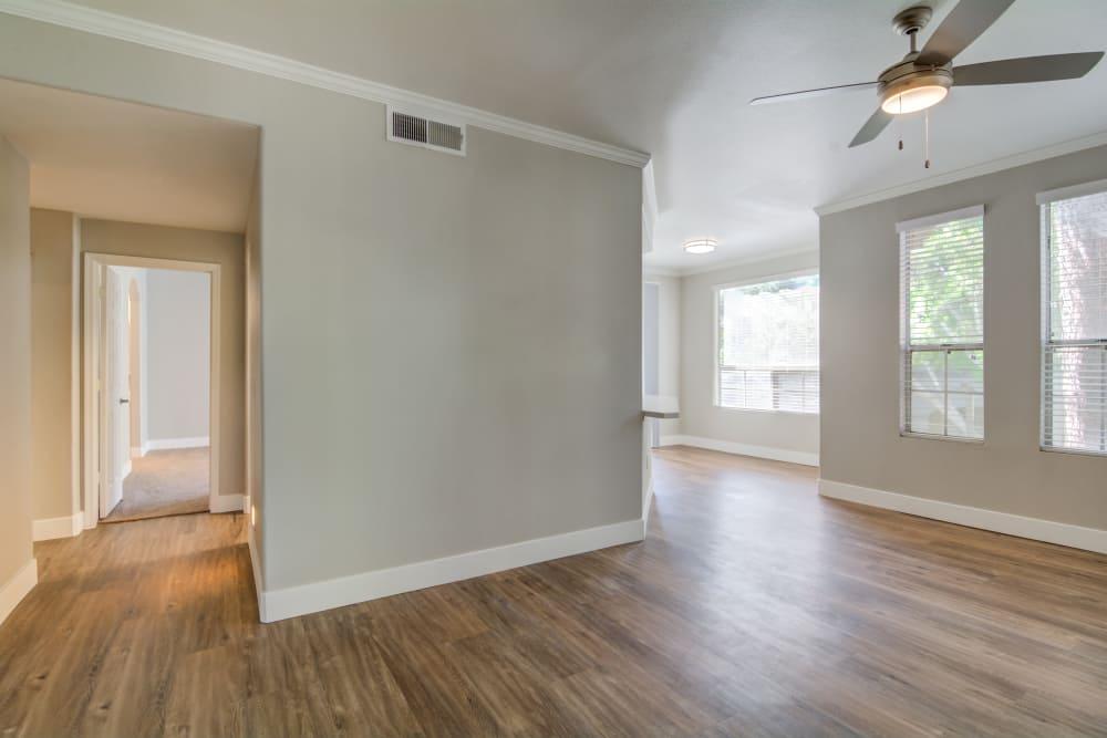 Spacious living room at apartments in Chandler, Arizona