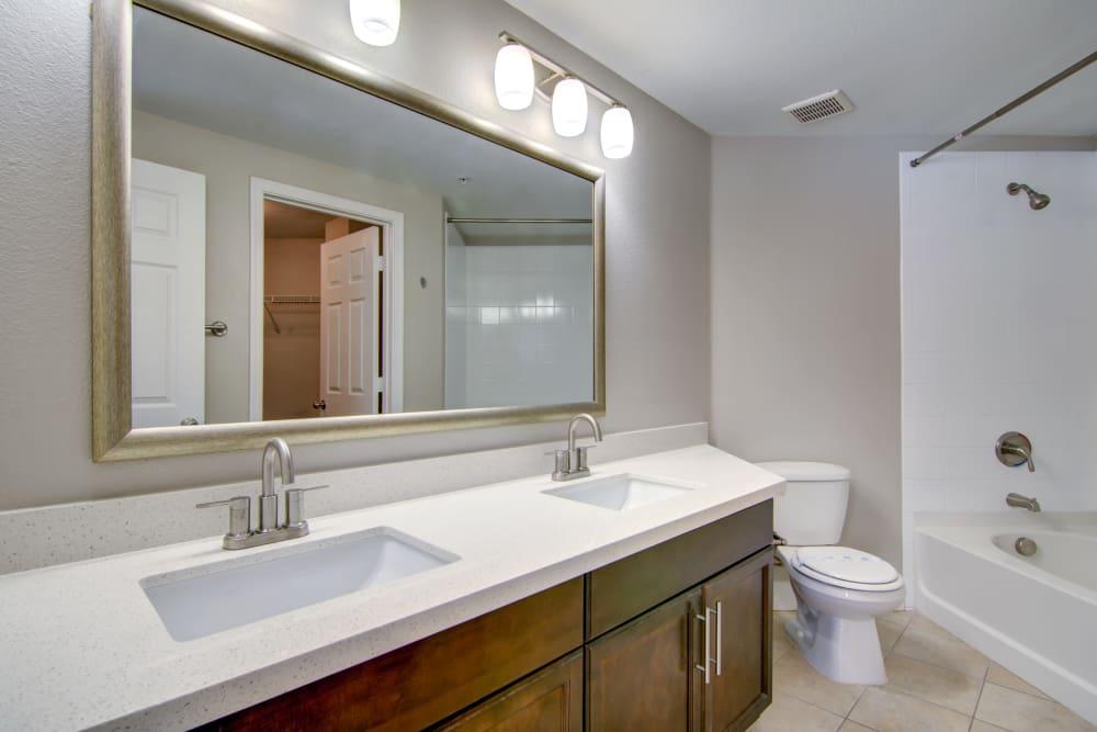 Apartment bathroom in Surprise, Arizona