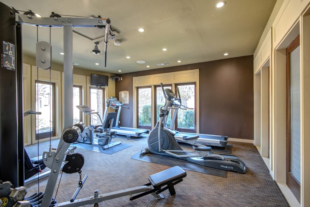 Fitness Center at Grayson Ridge in North Richland Hills, Texas