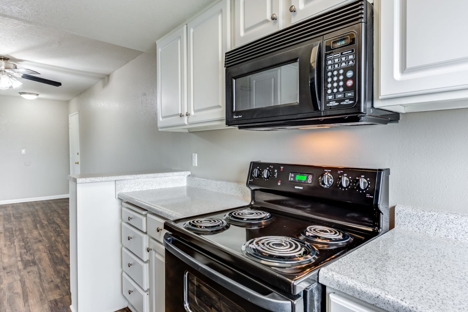 Kitchen at Apartments in Glendale, California