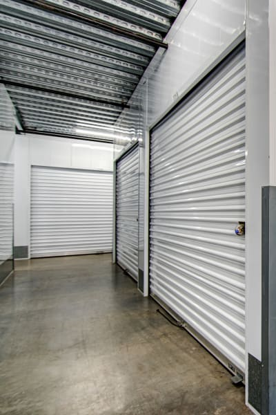 Looking into a storage unit at San Marcos Mini Storage in San Marcos, California