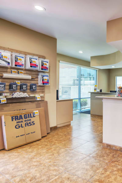Packing and moving supplies available at Smart Self Storage of Eastlake in Chula Vista, California