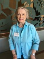 Sandra, resident at Merrill Gardens at Burien in Burien, Washington.
