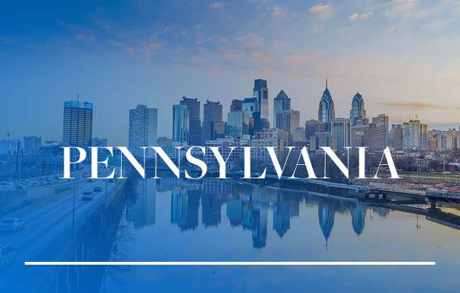 Pennsylvania locations by Morgan Properties