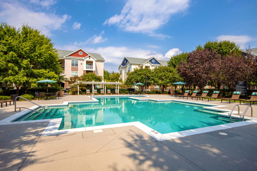 Pool at Preserve at Steele Creek in Charlotte, North Carolina