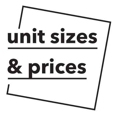 Sundance Self Storage unit sizes and prices call out