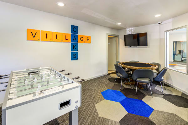 Game Room at Village Oaks in Chino Hills, CA