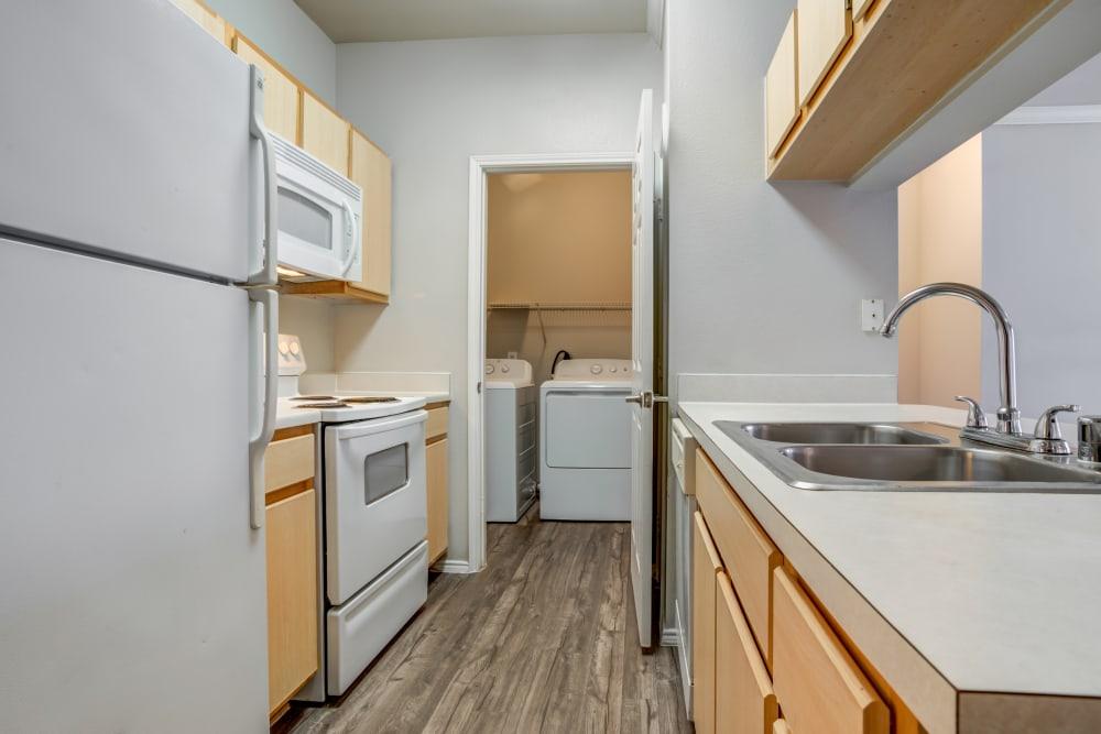 Beautiful kitchen at Legacy at Cypress in Cypress, Texas