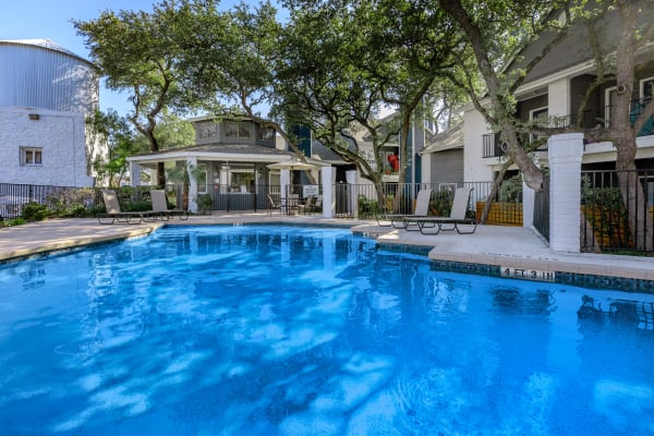 Swimming pool at APEX in San Antonio, Texas