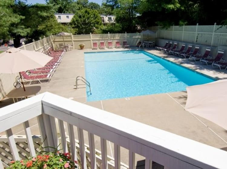 Swimming Pool at Talbot Woods Apartments in Middleboro