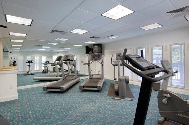 Fitness Center at Talbot Woods Apartments in Middleboro