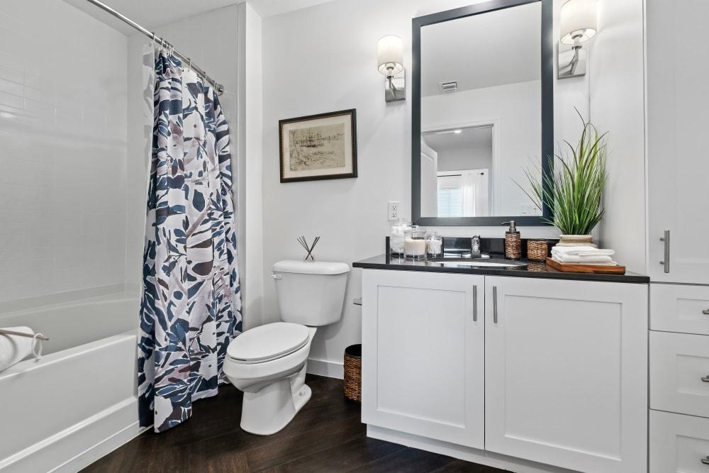 Bathroom at Town Lantana in Lantana, Florida