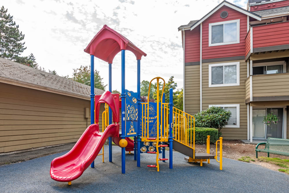 Playground at Chestnut Hills Apartments in Puyallup, Washington