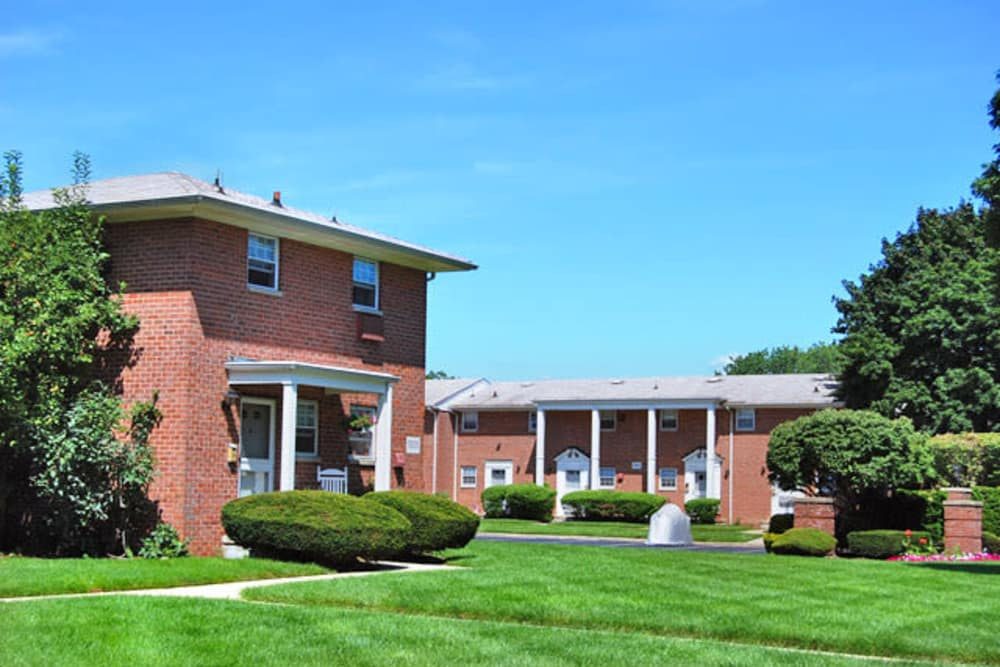 Apartment buildings at The Manor at Spring Lake in Spring Lake, New Jersey