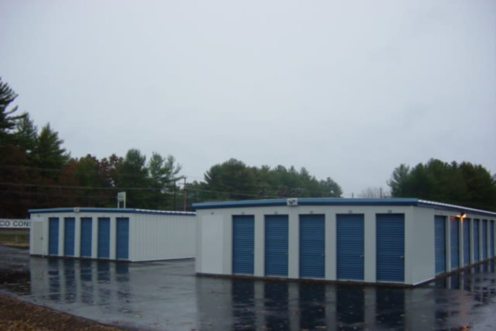 Well-maintained storage units at Safe Storage in Springvale, Maine
