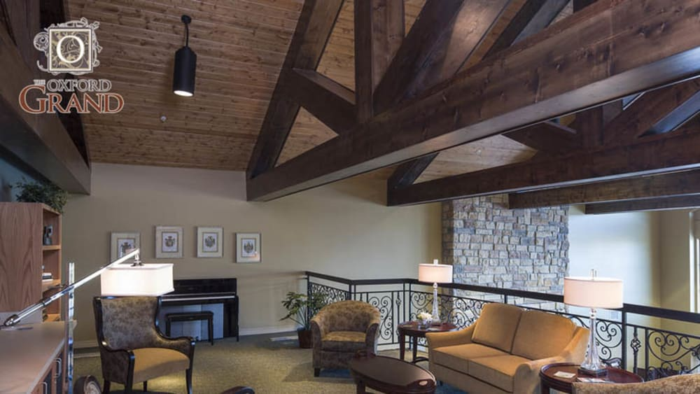 2nd floor lounge of The Oxford Grand Assisted Living & Memory Care in Wichita, Kansas