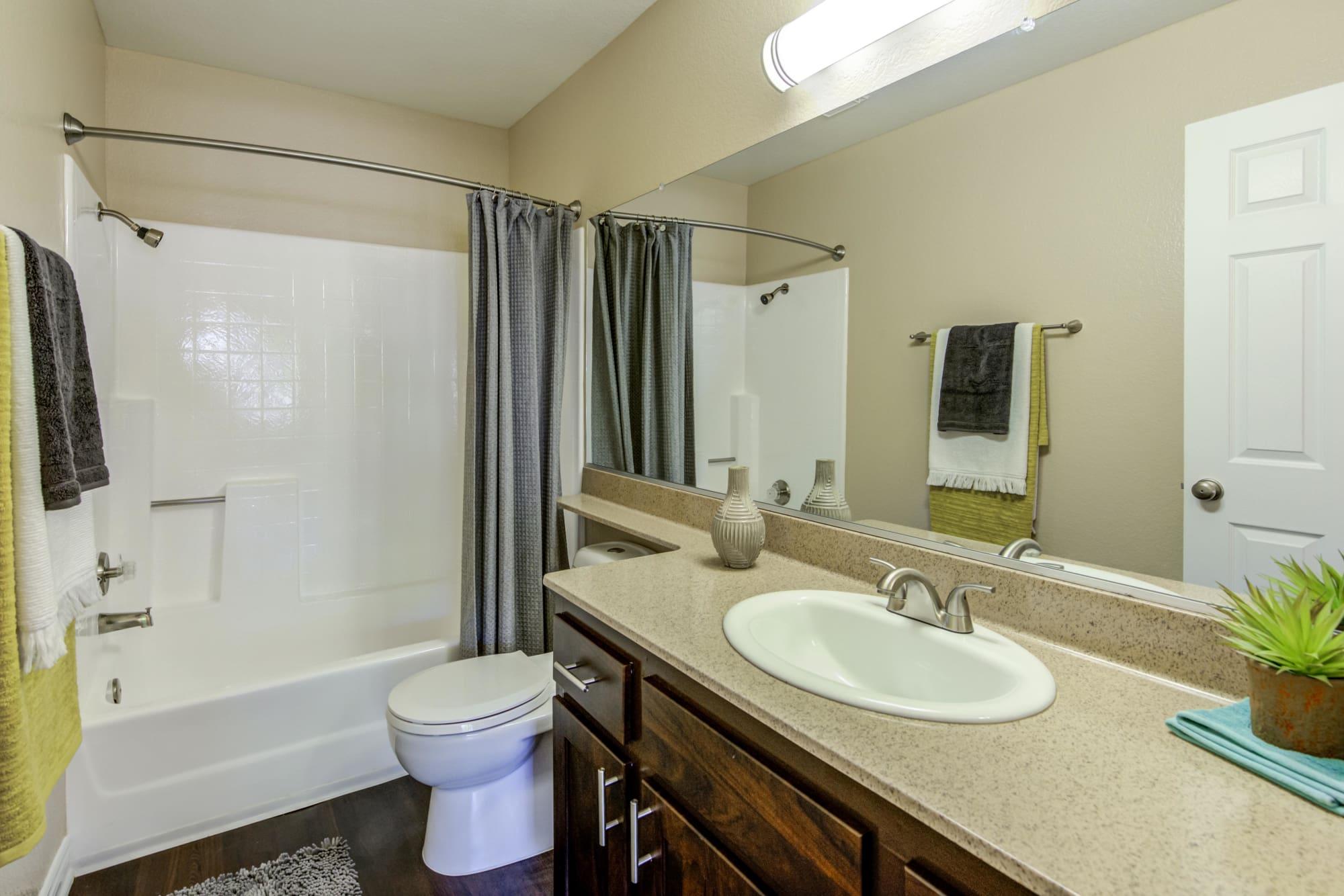 Spacious Bathroom, with tub at Village Oaks
