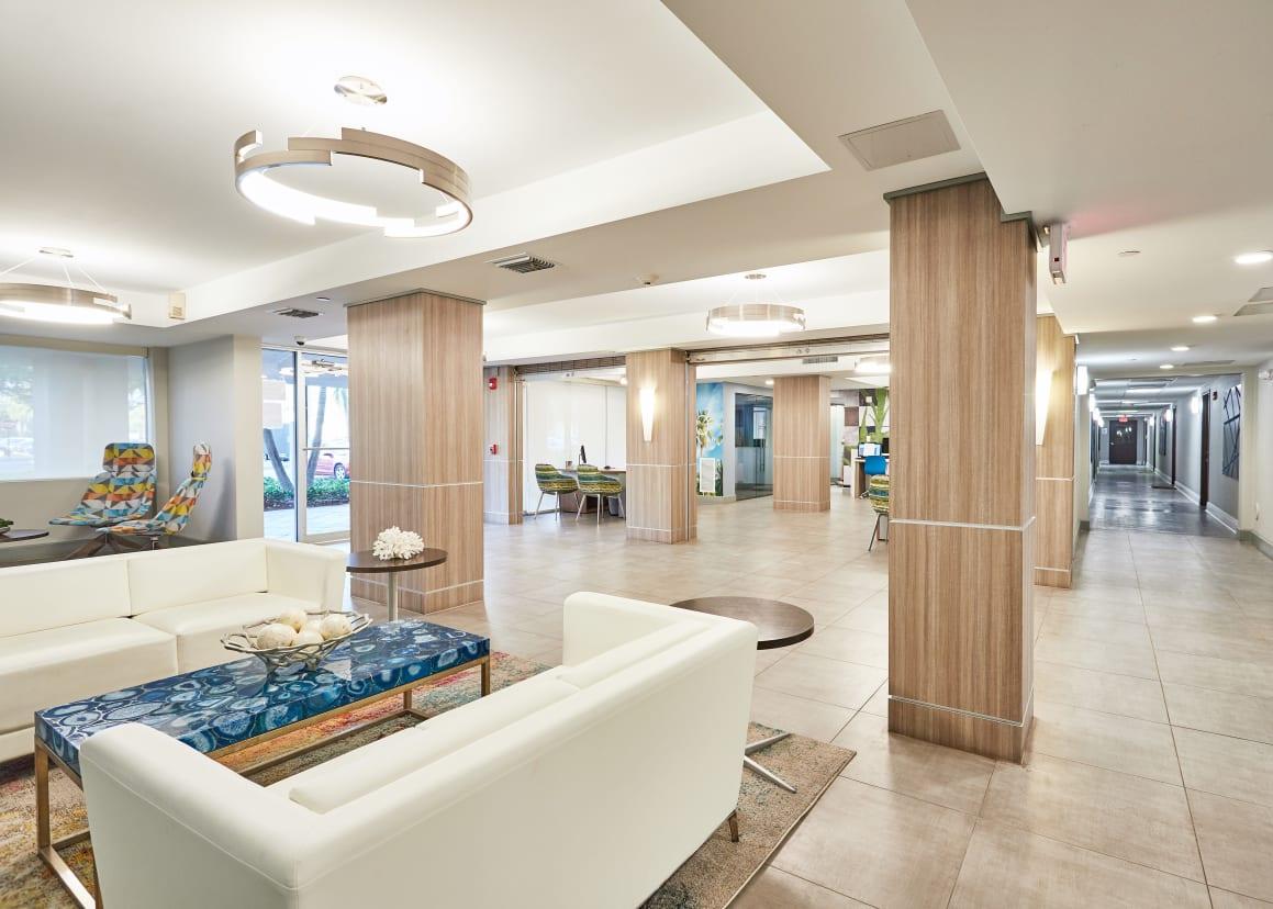 Luxury amenities at Aliro in North Miami, Florida